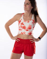 Work It Out Shorts - Red