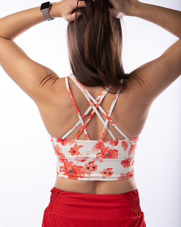 Align Tank - Red Floral