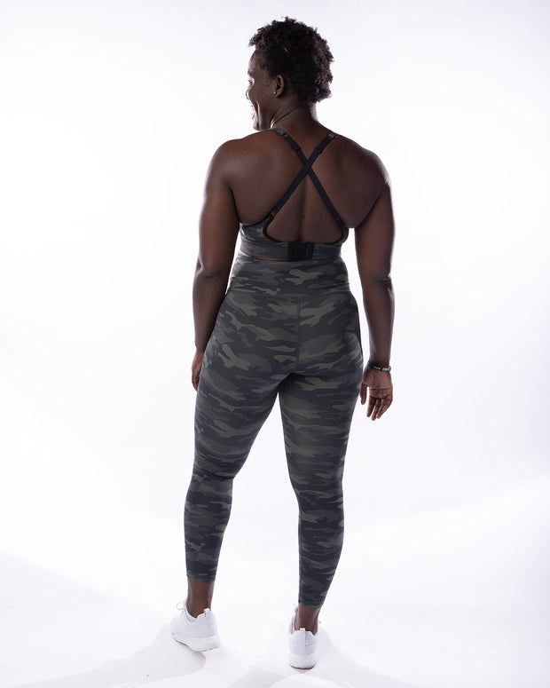 Cross Over Legging - Camo