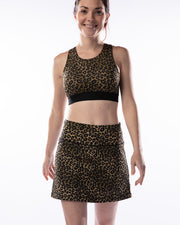 All About It Skirt - Cheetah