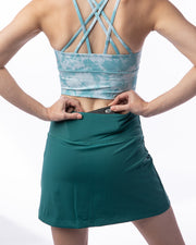All About It Skirt - Dark Teal