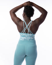 Conquer Within Legging - Light Teal