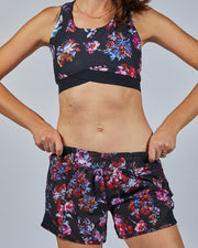 Speed Up Shorts - Floral