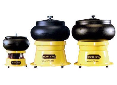 Burr King • Vibratory Bowls • 0.75-5 Gallon • Model 110, 150 & 200