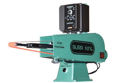 Burr King • Probe Belt Grinder • 2 x 72 Inch • Model 720