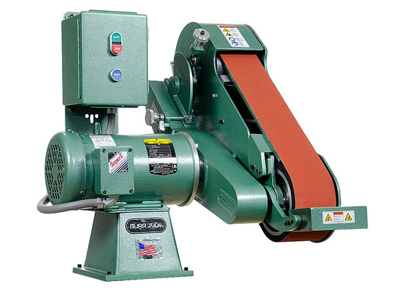 Burr King • Two Wheel Belt Grinder • 4 x 60 Inch • Model 960-400