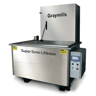 Graymills • Ultrasonic Immersion Cleaner • 183 Gallon • SuperSonic Liftkleen