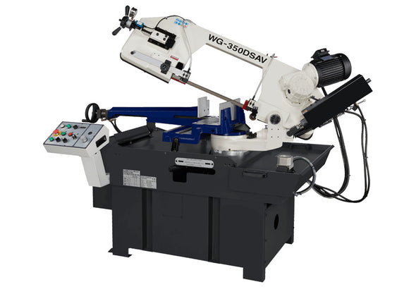 Linmac • Band Saw • Inverter Variable Speed • Double Miter • WG-350DSAV