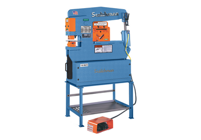 Scotchman • Single Operator Ironworker • 45 Ton • Porta Fab 45