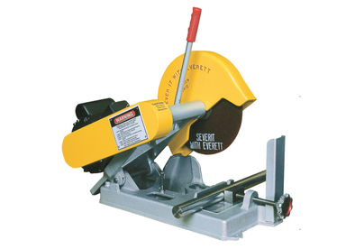 Everett • Dry or Wet Abbrasive Cut Off Saw • 10 Inch