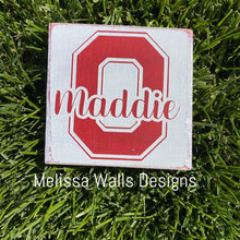 "Load image into Gallery viewer, 3.5"" x 3.5"" College/School/Custom Order Mini Blocks"
