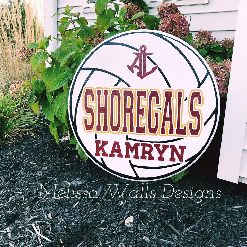 Yard Signs- Shoregals Volleyball