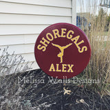 Shoregals Gymnastics- Yard Signs (read description below)