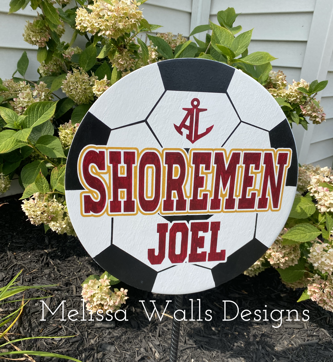 Yard Signs- Shoremen Soccer