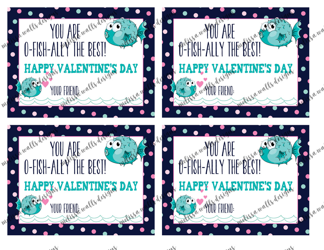 You are o-fish-ally the best! Valentine