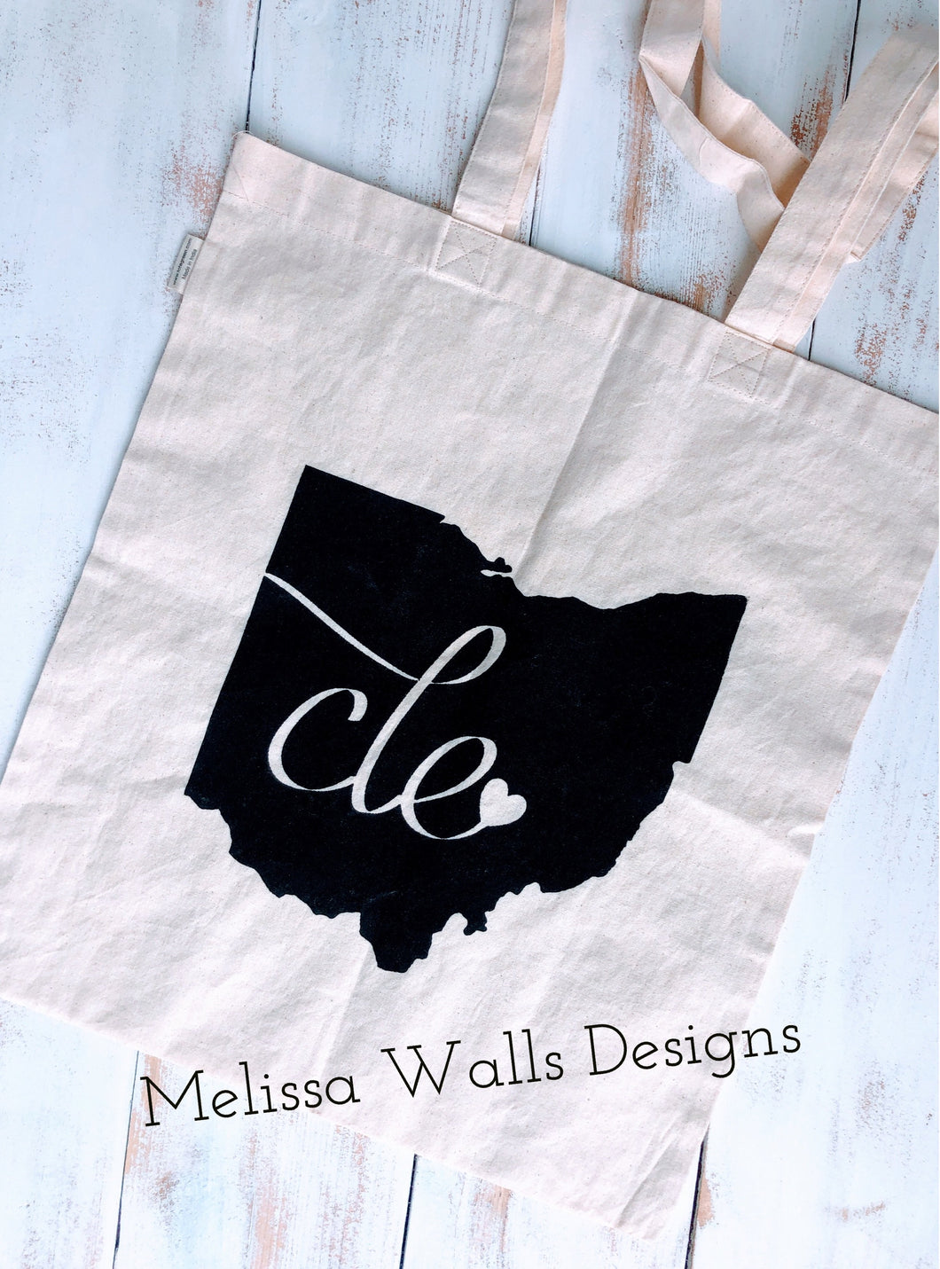 CLE Custom Reusable Grocery Tote