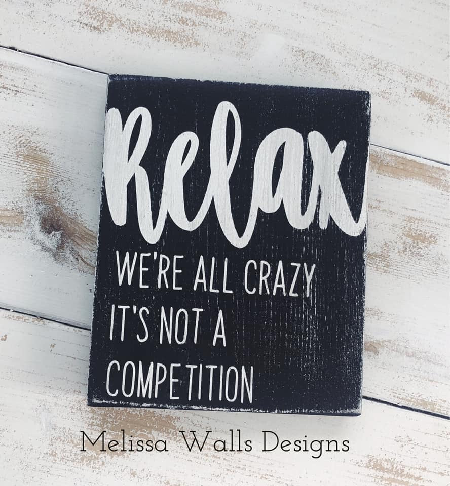 Relax- We're all crazy
