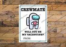 Load image into Gallery viewer, Among Us Crewmate Valentine