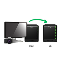 Digital Storage Pack - Drobo 5D3 and Drobo 5C