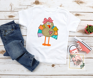 Turkey Girl Infant Toddler