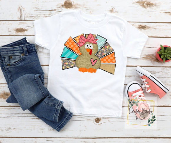 Turkey Girl 2 Infant Toddler