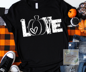 Love - pumpkin