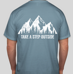 "Kid's Short Sleeve ""Take a Step Outside"""