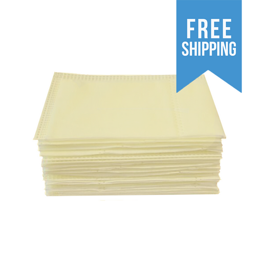 Polypropylene Disposable Filter Insert Media Stack 4'' by 6''yellow electrostatic