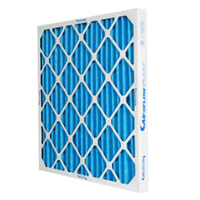 Load image into Gallery viewer, blue pleated air filter MERV 10 AFP2000 HVAC