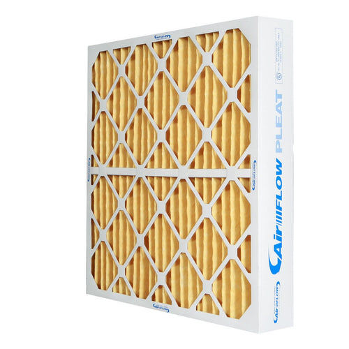 4 inch yellow MERV 11 Pleated Air Filters for home