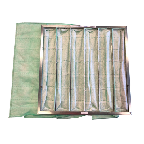Green High Efficiency Filter Bags for Black Hole Toner Cleaning Station