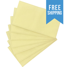 Load image into Gallery viewer, 100% Polypropylene Disposable yellow and white electrostatic Filter Inserts for mask