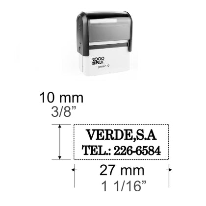 Sello Printer 10