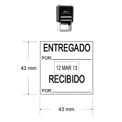 Sello Fechador Q-43-Stamps