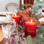 Noble Red Portus Cale Candle