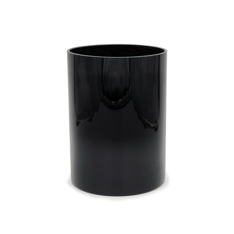 The Signature Black Glass Cylinder Vase