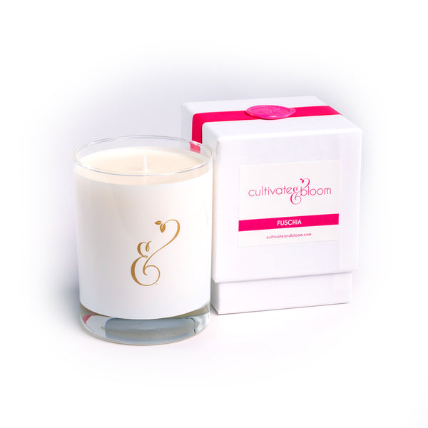 Fuchsia Signature Cultivate & Bloom Candle
