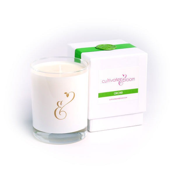 Orchid Signature Cultivate & Bloom Candle
