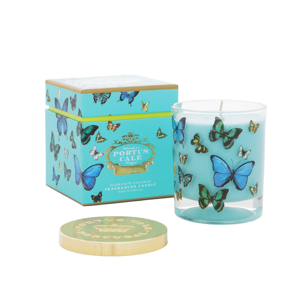 Butterflies Portus Cale Candle