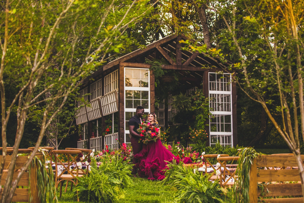 Elopement Microwedding Greenhouse Venue Virginia
