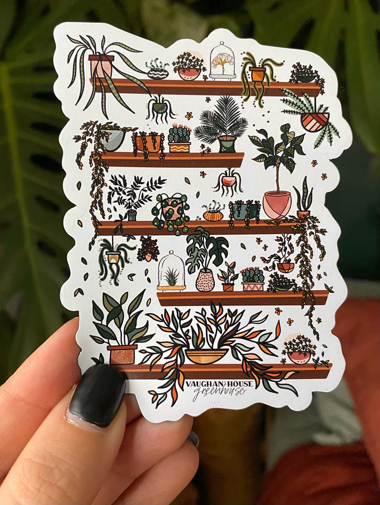 Greenhouse Inspired Keychains, Stickers, Magnets via Stickermule