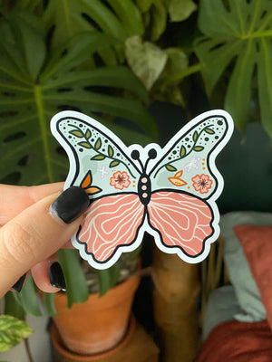 Whimsical Butterfly Magnet
