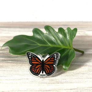 Acrylic Monarch Butterfly Pin