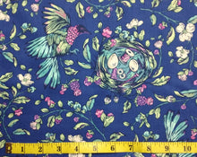 Load image into Gallery viewer, Northcott Stag and Thistle 23305-48 Songstress Navy Multi 1/2yd Cuts