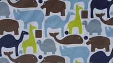 Load image into Gallery viewer, Zoo Pals in Blue Animal by Dwell Style Home/Robert Allen