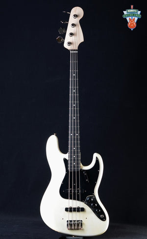 Fender 1969 Jazz Bass Olympic White with New Neck - Used