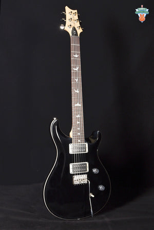 PRS CE 24 - Black with Natural Wood Binding