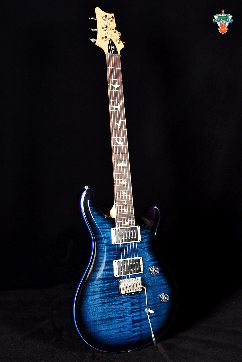 PRS CE 24 - Whale Blue Smokewrap with Blue Binding