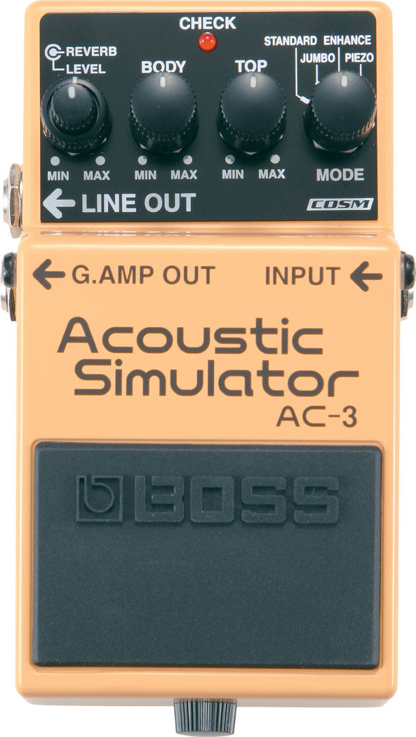 Boss AC-3 Acoustic Simulator Pedal