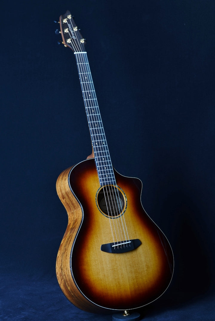 Breedlove Premier Concert Whiskey Burst CE Limited Edition - Adirondack Spruce/Ovangkol